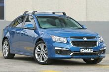 2015 Holden Cruze JH MY15 SRi V Blue 6 Speed Automatic Sedan Wolli Creek Rockdale Area Preview