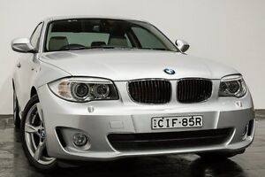 2012 BMW 120I E82 LCI MY0312 Steptronic Silver 6 Speed Sports Automatic Coupe Rozelle Leichhardt Area Preview