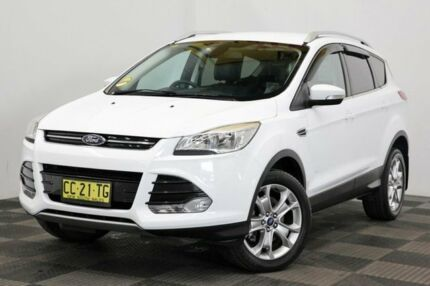 2015 Ford Kuga TF MY15 Trend PwrShift AWD White 6 Speed Sports Automatic Dual Clutch Wagon Seven Hills Blacktown Area Preview