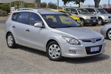 2012 Hyundai i30 FD MY11 SX cw Wagon Silver 6 Speed Manual Wagon Wangara Wanneroo Area Preview