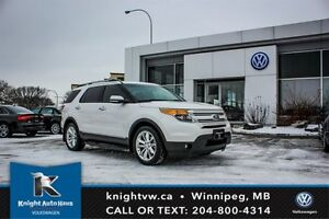 2014 Ford Explorer Limited w/ Nav/DVD Player/Leather/Sunroof/Bac