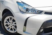 2015 Toyota Prius v White Constant Variable Wagon St James Victoria Park Area Preview