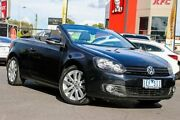 2011 Volkswagen Golf VI MY12 118TSI DSG Black 7 Speed Sports Automatic Dual Clutch Cabriolet Coburg Moreland Area Preview