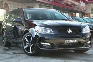 2016 Holden Commodore VF II MY16 SS Sportwagon Black Black 6 Speed Sports Automatic Wagon Waitara Hornsby Area Preview