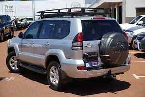 2005 Toyota Landcruiser Prado KZJ120R GXL Silver 4 Speed Automatic Wagon Westminster Stirling Area Preview