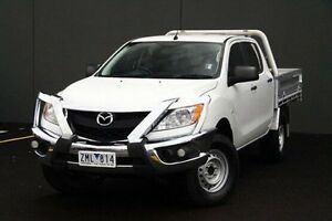 2015 Mazda BT-50  White Manual Cab Chassis Cranbourne Casey Area Preview