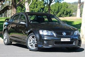 2011 Holden Commodore VE II MY12 SV6 Black 6 Speed Sports Automatic Sedan West Gosford Gosford Area Preview