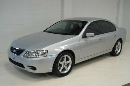 2008 Ford Fairmont BF Mk II Silver 4 Speed Sports Automatic Sedan
