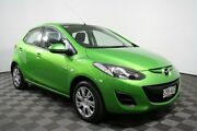 2013 Mazda 2 DE10Y2 MY13 Neo Green 4 Speed Automatic Hatchback Edwardstown Marion Area Preview
