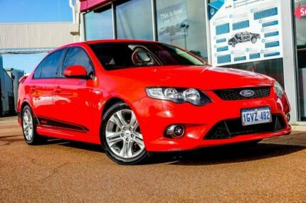 2009 Ford Falcon FG XR6 Red 5 Speed Sports Automatic Sedan Osborne Park Stirling Area Preview