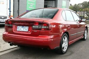 2000 Subaru Liberty MY01 Heritage (AWD) Burgundy 4 Speed Automatic Sedan Briar Hill Banyule Area Preview
