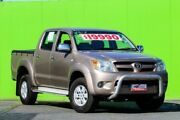 2007 Toyota Hilux GGN25R MY07 SR5 Beige 5 Speed Manual Utility Ringwood East Maroondah Area Preview