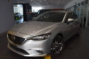 2015 Mazda 6 GJ1022 Atenza SKYACTIV-Drive Grey 6 Speed Sports Automatic Sedan