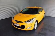 2013 Hyundai Veloster FS2 Coupe Yellow 6 Speed Manual Hatchback Parramatta Park Cairns City Preview