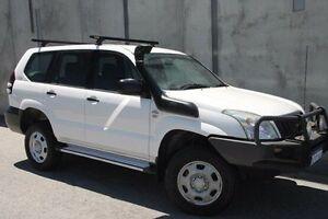 2008 Toyota Landcruiser Prado KDJ120R GX White 6 Speed Manual Wagon Mount Hawthorn Vincent Area Preview