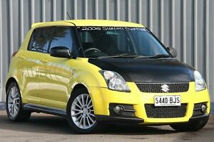 2006 Suzuki Swift RS416 Sport Yellow & Black Roof 5 Speed Manual Hatchback Enfield Port Adelaide Area Preview