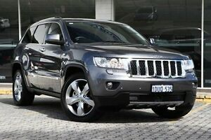 2012 Jeep Grand Cherokee Grey Sports Automatic Wagon St James Victoria Park Area Preview