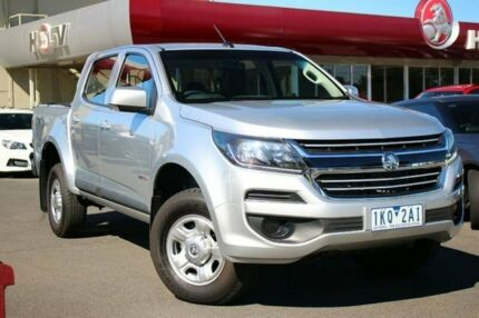 2017 Holden Colorado RG MY17 LS Crew Cab Silver 6 Speed Sports Automatic Cab Chassis