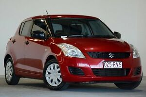 2011 Suzuki Swift FZ GL Red 5 Speed Manual Hatchback Coopers Plains Brisbane South West Preview