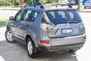 2011 Mitsubishi Outlander ZH MY11 LS 2WD Grey 6 Speed Constant Variable Wagon St James Victoria Park Area Preview