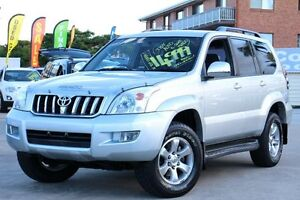 2005 Toyota Landcruiser Prado GRJ120R VX Silver 5 Speed Automatic Wagon Greenslopes Brisbane South West Preview