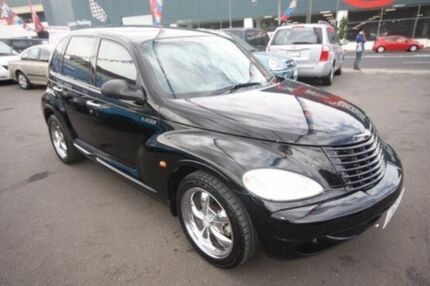 2004 Chrysler PT Cruiser PG MY2004 Classic Black 4 Speed Automatic Wagon Kingsville Maribyrnong Area Preview