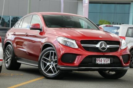 2015 Mercedes-Benz GLE350 C292 d Coupe 9G-Tronic 4MATIC Red 9 Speed Sports Automatic Wagon Nundah Brisbane North East Preview