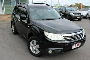 2008 Subaru Forester S3 MY09 XS AWD Black 4 Speed Sports Automatic Wagon Wakerley Brisbane South East Preview