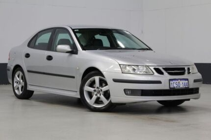 2005 Saab 9-3 MY05 ARC 2.0T Silver 5 Speed Automatic Sedan Bentley Canning Area Preview