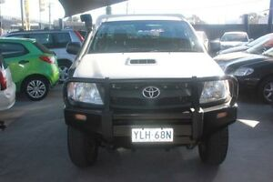 2007 Toyota Hilux KUN16R 06 Upgrade SR (4x4) White 5 Speed Manual C/CHAS- EXTRA CAB Mitchell Gungahlin Area Preview