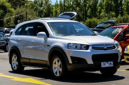 2013 Holden Captiva CG Series II MY12 7 SX Silver 6 Speed Sports Automatic Wagon Ringwood East Maroondah Area Preview