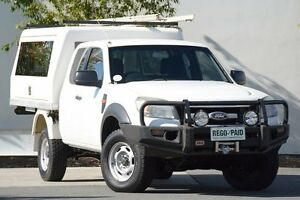 2011 Ford Ranger PK XL Super Cab White 5 Speed Manual Cab Chassis Robina Gold Coast South Preview