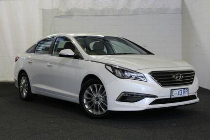 2015 Hyundai Sonata LF Active White 6 Speed Sports Automatic Sedan Derwent Park Glenorchy Area Preview