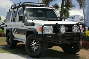 2012 Toyota Landcruiser VDJ76R MY10 Workmate White 5 Speed Manual Wagon Windsor Brisbane North East Preview