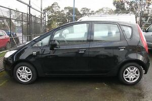 2006 Mitsubishi Colt RG MY06 LS Black Continuous Variable Hatchback Briar Hill Banyule Area Preview