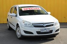 2007 Holden Astra AH MY07 CD White 4 Speed Automatic Hatchback Heatherton Kingston Area Preview