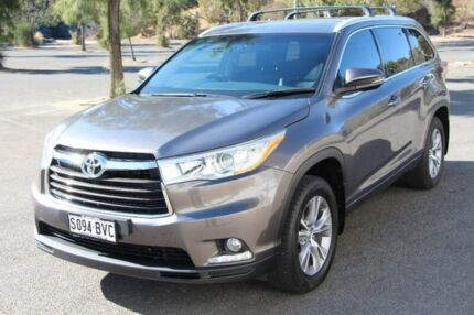 2014 Toyota Kluger GSU50R GXL 2WD Grey 6 Speed Sports Automatic Wagon Nailsworth Prospect Area Preview