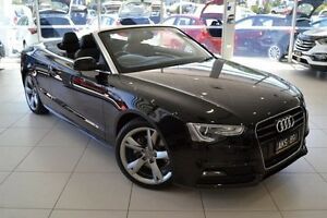 2015 Audi A5 8T MY15 Multitronic Black 8 Speed Constant Variable Cabriolet Mill Park Whittlesea Area Preview