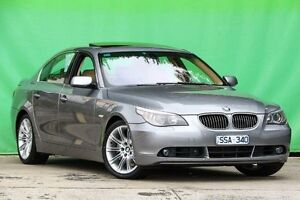 2004 BMW 545i E60 Steptronic Grey 6 Speed Sports Automatic Sedan Ringwood East Maroondah Area Preview