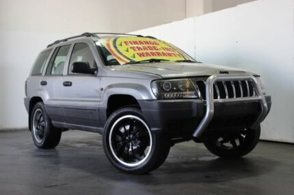 2000 Jeep Grand Cherokee WJ Laredo (4x4) Grey 4 Speed Automatic 4x4 Wagon