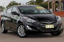 2015 Hyundai Elantra MD3 Elite Black 6 Speed Sports Automatic Sedan McGraths Hill Hawkesbury Area Preview