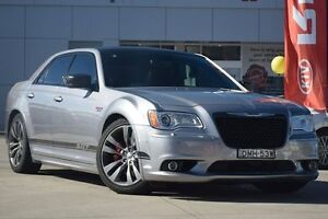2015 Chrysler 300 SRT8 Core Satin Vapour Silver 5 Speed Automatic Sedan Waitara Hornsby Area Preview