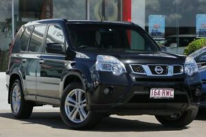 2010 Nissan X-Trail T31 Series III ST-L Black 1 Speed Constant Variable Wagon Kippa-ring Redcliffe Area Preview