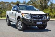 2012 Mazda BT-50 UP0YF1 XTR Freestyle White 6 Speed Manual Utility Wilson Canning Area Preview