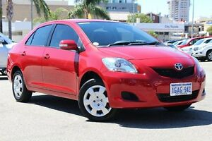 2015 Toyota Yaris NCP93R YRS Wildfire 4 Speed Automatic Sedan Northbridge Perth City Area Preview