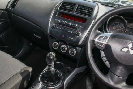 2011 Mitsubishi ASX XA MY11 Black Pearlescent 6 Speed Manual Wagon