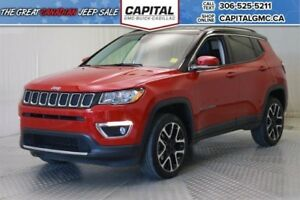 2017 Jeep Compass Limited 4WD*Nav*Leather*