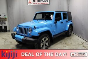 2018 Jeep Wrangler JK Unlimited 4WD SAHARA UNLTD Heated Seats,
