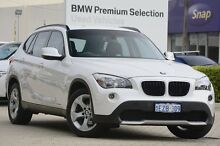 2011 BMW X1 E84 MY0911 sDrive20d Steptronic White 6 Speed Sports Automatic Wagon Victoria Park Victoria Park Area Preview