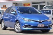 2016 Toyota Corolla ZRE182R Ascent Sport S-CVT Blue Gem 7 Speed Constant Variable Hatchback Woolloongabba Brisbane South West Preview